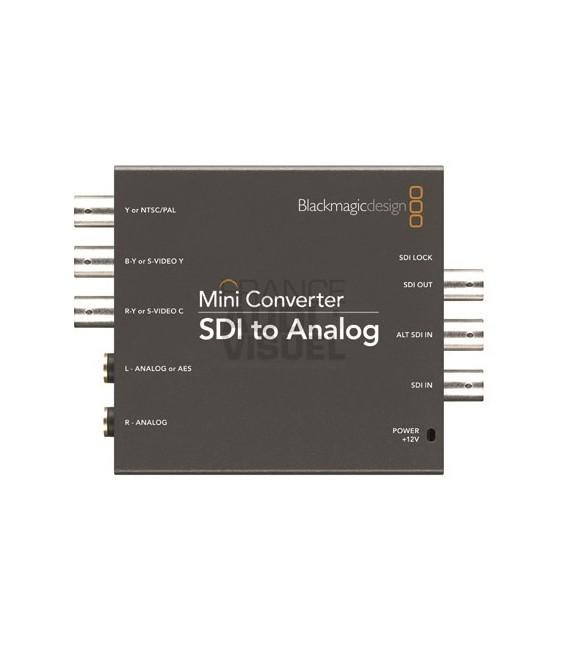 Blackmagic SDI to Analog