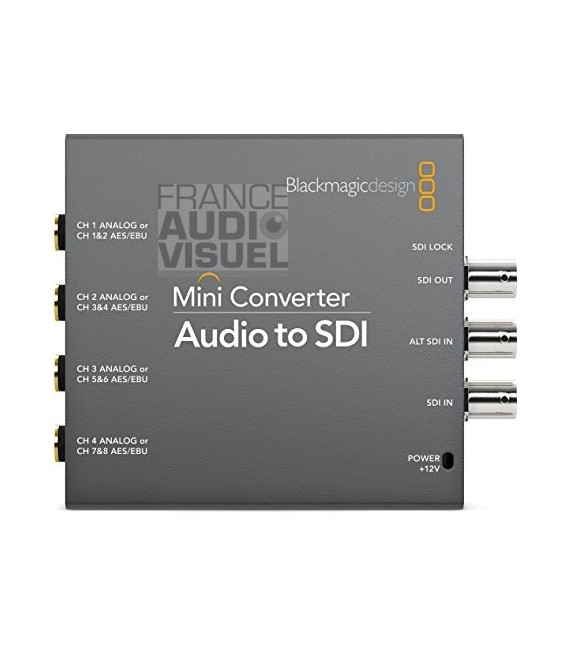 Blackmagic Audio to SDI
