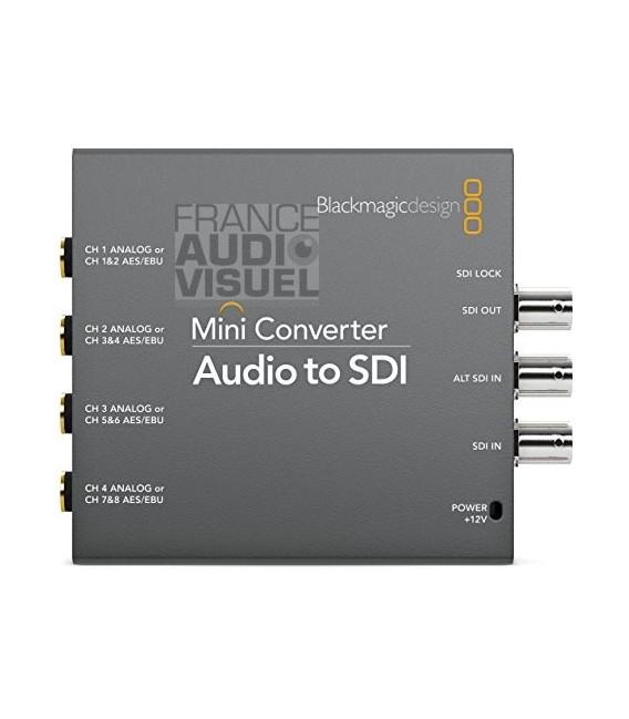 Blackmagic Audio to SDI